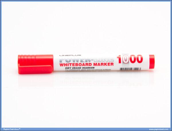 Marker za belu tablu obli vrh CRVENI, Line Plus