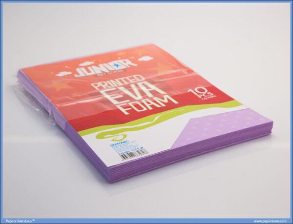 Pena karton A4 EVA PRINT TUFNE 1/10, Junior
