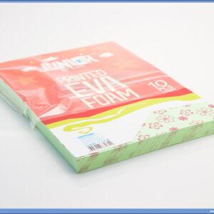 Pena karton A4 EVA PRINT CVETOVI 1/10, Junior