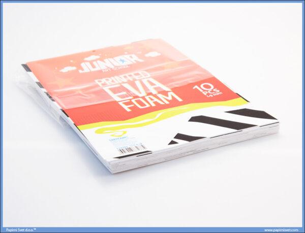 Pena karton A4 EVA PRINT ZEBRA 1/10, Junior