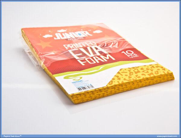 Pena karton A4 EVA PRINT LEOPARD 1/10, Junior