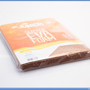 Pena karton A4 EVA GLITTER BRONZA 1/10, Junior