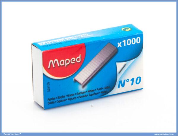 Heft municija no.10, Maped