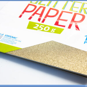 Karton papir GLITER GOLD 250gr ZLATNI 1/10, Junior