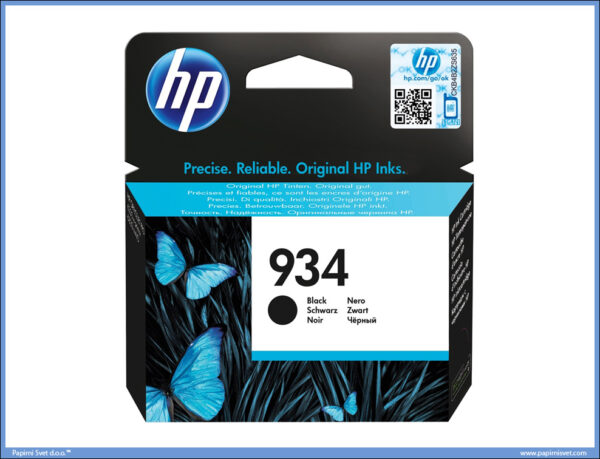 HP NO.934 CARTRIDGE BLACK, C2P19AN