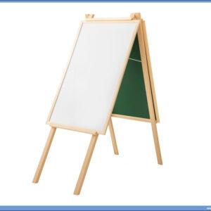 Kombinovana - BELO ZELENA - tabla sa nogarama 71x43cm