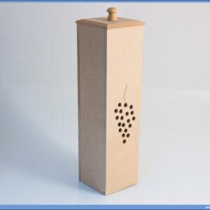 Dekupaž kutija za flašu GROŽĐE
