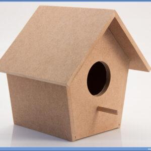 Dekupaž kućica za ptice 14,5x15x21cm