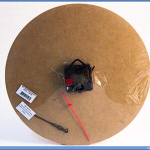 Dekupaž okrugla podloga za sat 30cm sa mehanizmom