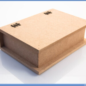 Dekupaž kutija za knjigu format A5, 17x12,5