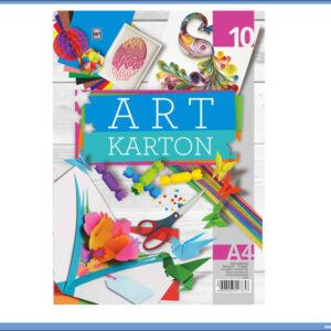 ART Karton papir 250gr/m2 10 boja, Optimum