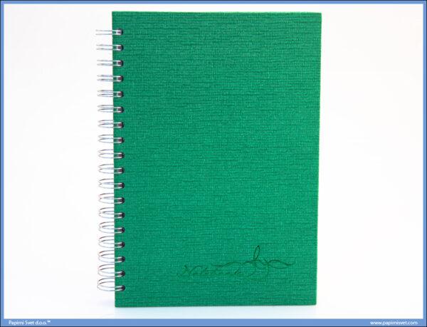 Sveska - Rokovnik B5 spirala sitan karo 150 lista, Ace Co