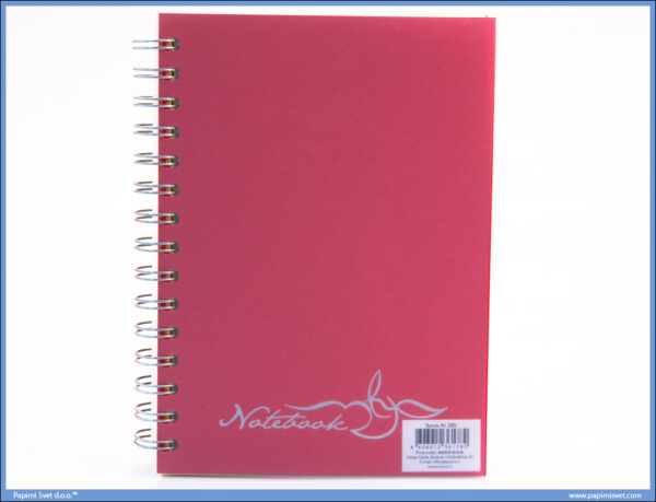 Sveska - Notebook A5 spirala sitan karo 200 lista, Ace Co
