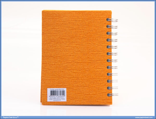 Sveska - Rokovnik B6 spirala sitan karo 150 lista, Ace Co