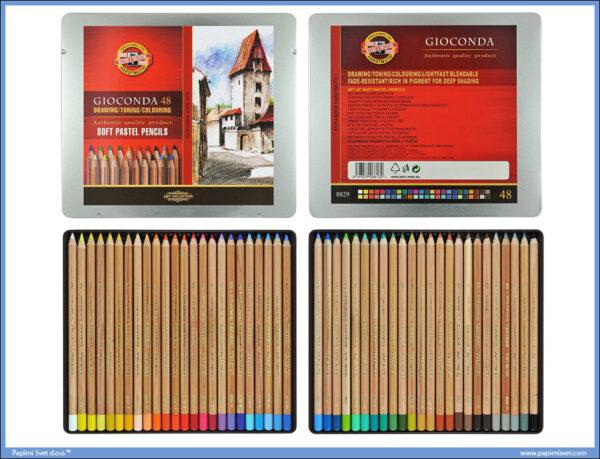 Suvi pastel meki u olovci 1/48 GIOCONDA, Koh-I-Noor