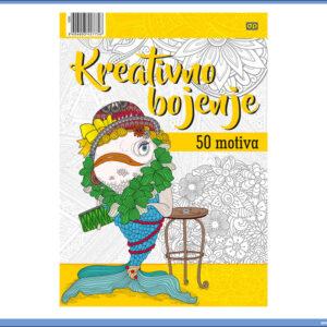 Bojanka za SVE - Kreativno bojenje A4 50 motiva