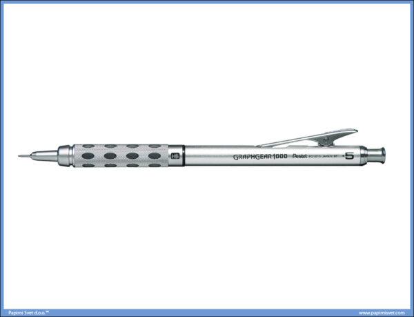 Tehnička olovka 0.5mm metalna GRAPHGEAR 1000, Pentel