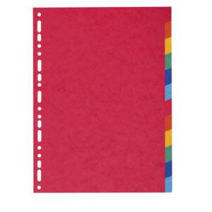 Pregradni kartoni kartonski 1/12 u boji, Exacompta
