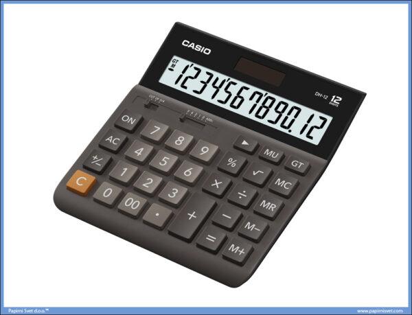 Kalkulator-Digitron Stoni 12 mesta DH 12, Casio