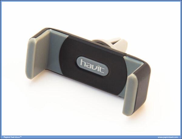 Nosač za telefon u autu crno-sivi, Havit