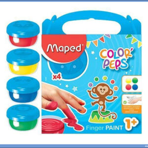 Boje za prste FINGER PAINT 1/4, Maped