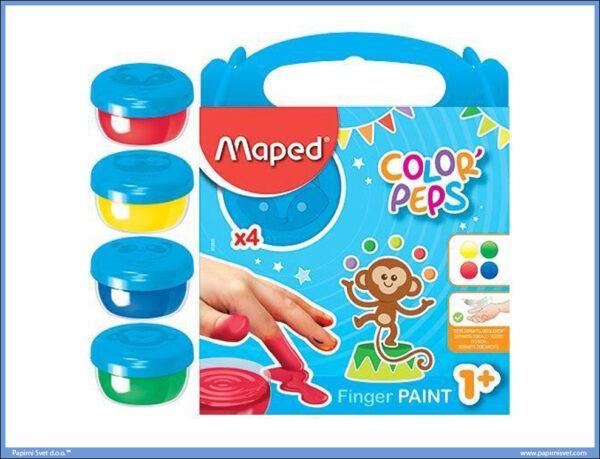 Boje za prste FINGER PAINT 1/4, Maped