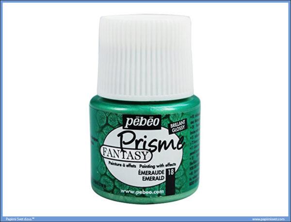 Dekorativna boja EMERALD 18 Fantasy Prisme, Pebeo