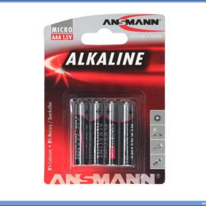 Baterije LR03 AAA Alkaline 1/4, Ansmann