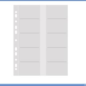 Fascikle za vizit karte za registrator A4 1/10, Donau