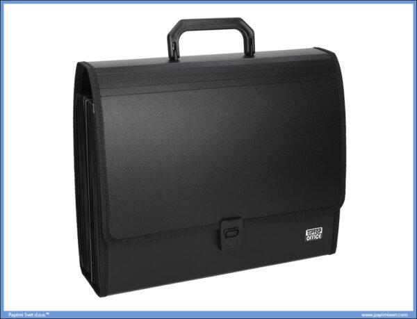 Arhiv torba fascikla sa 26 pregrada Crna, Tip Top Office