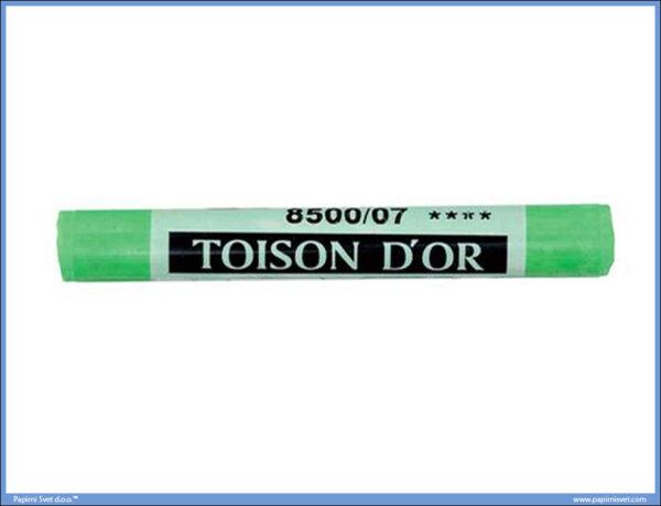 Suvi meki pastel na komad PERMANENT GREEN LIGHT, Koh-I-Noor