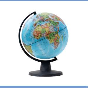 Globus fizičko-geografski 16cm prečnik, Tecnodidattica