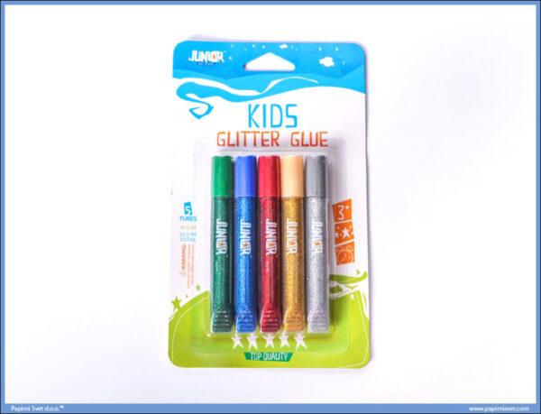 Svetlucavi lepak sa šljokicama GLITTER TIX 1/5, Junior