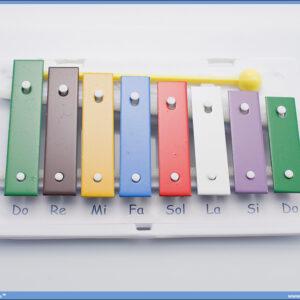 Metalofon ksilofon 8/p