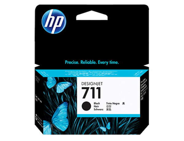 HP 711 kertridž CZ129A 38ml, Black Crni