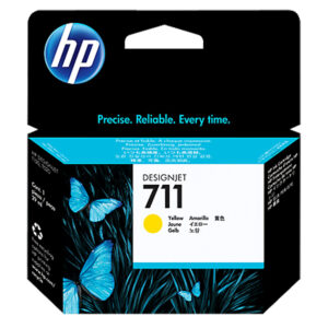 HP 711 kertridž CZ132A 29ml, Žuti Yellow