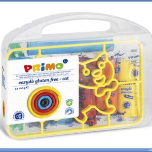 Kofer sa plastelinom 5 boja 100gr + alat za modeliranje MAČKA, Primo