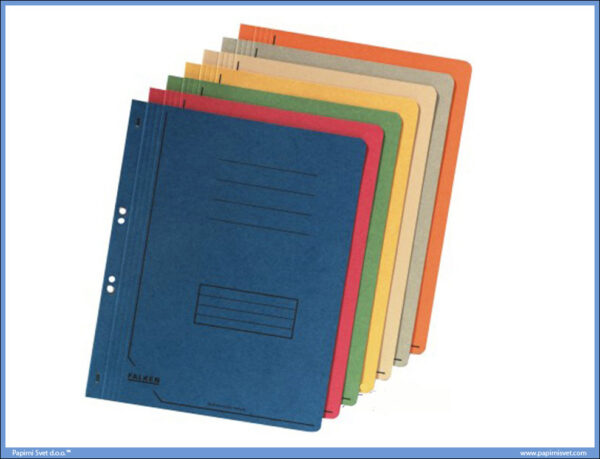 Fascikla kartonska za registrator sa mehanizmom A4