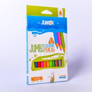 Drvene bojice 1/12 Jumbo coloring pencils, Junior