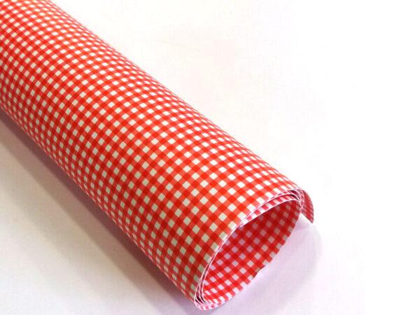 Karton Deco Crveni KARO B1 (70X100cm) 250gr 1/10