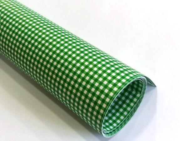 Karton Deco Zeleni KARO B1 (70X100cm) 250gr 1/10