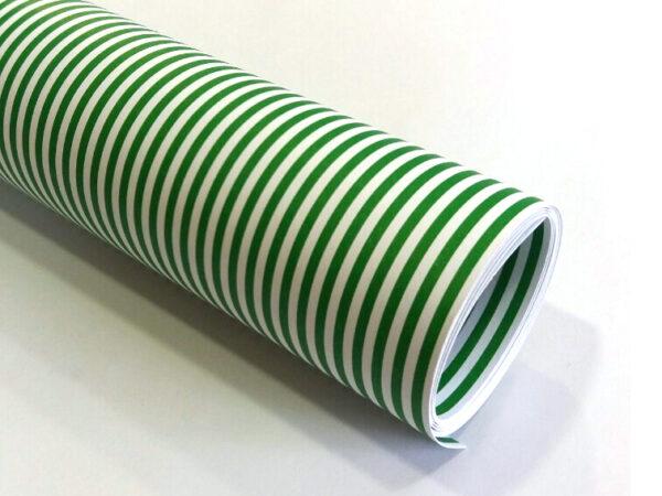 Karton Deco Zeleni LINIJE B1 (70X100cm) 250gr 1/10
