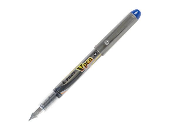 Naliv pero V PEN Silver Medium plavo, Pilot