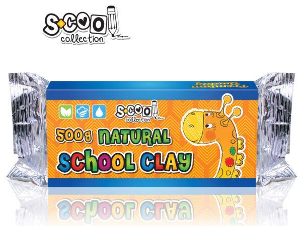 Školska glina 500gr, S-COOL