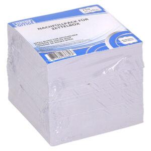 Blok papir -punjenje za kocku- BELI 83x83mm TTO