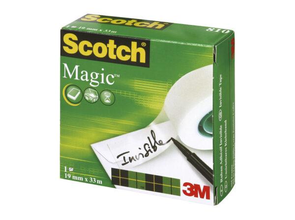 Traka lepljiva nevidljiva 19mm/33m Scotch Magic-810 3M