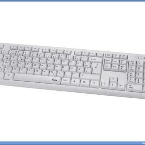 Tastatura VERANO srpski layout BELA, HAMA