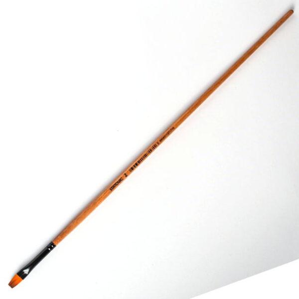 Četkica braon drska FLAT br. 2, Pop Brush
