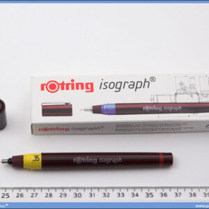 Rapidograf 0.35mm, Rotring