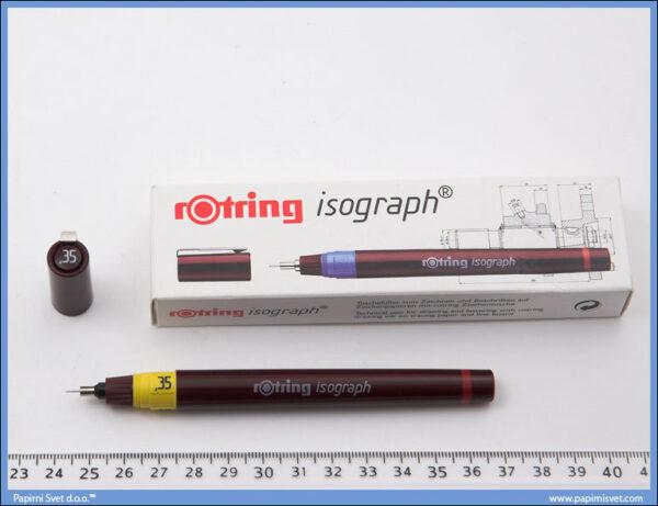 Rapidograf 0.35mm, Rotring